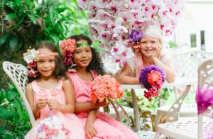 Glamour Flower girls